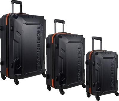 Timberland Boscawen 3-Piece Hardside Spinner Luggage Set Dark Navy - Timberland Luggage Sets