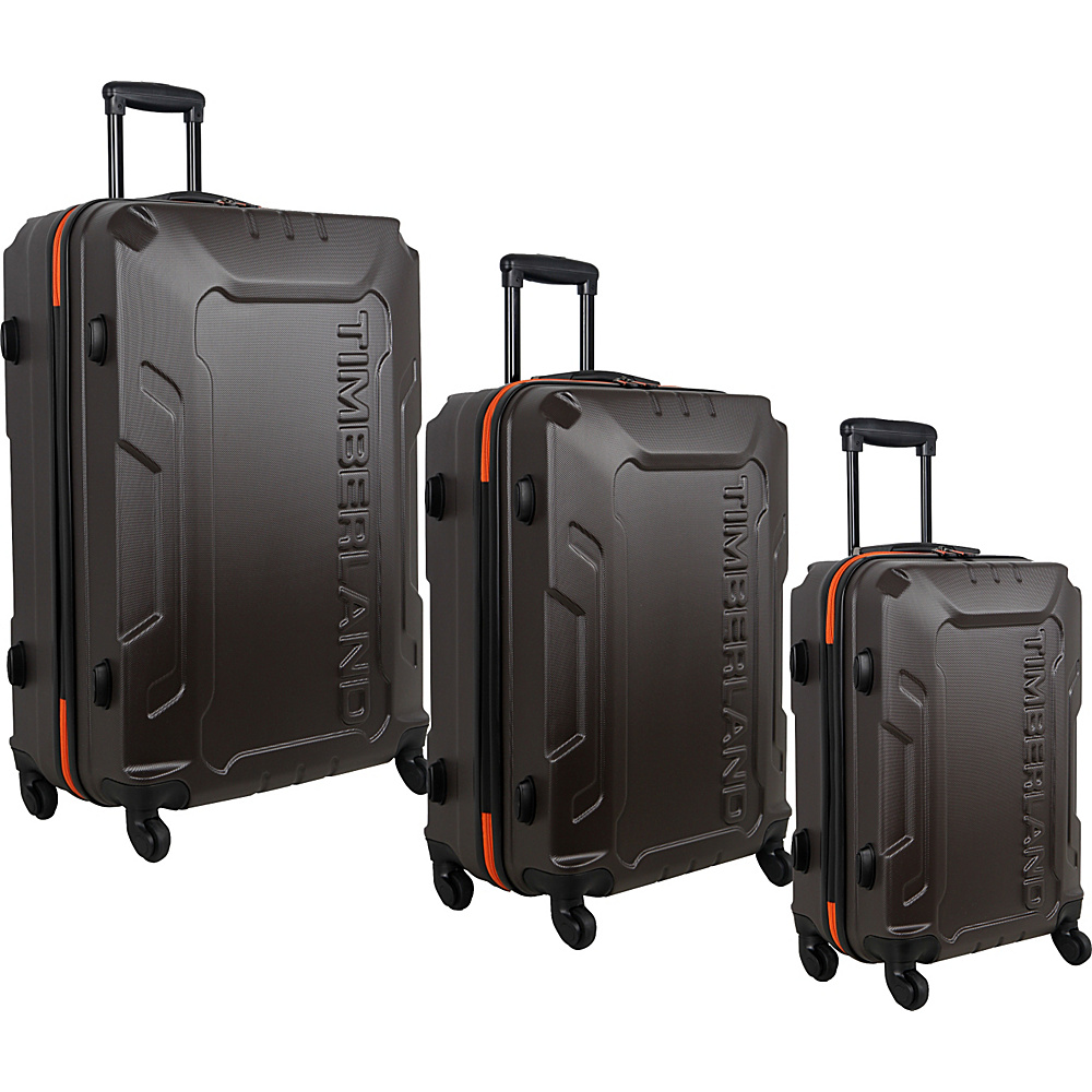 Timberland Boscawen 3 Piece Luggage Set Bronze Timberland Luggage Sets