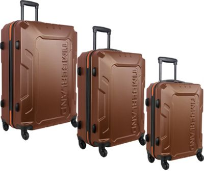 Timberland Boscawen 3-Piece Hardside Spinner Luggage Set Glazed Ginger - Timberland Luggage Sets