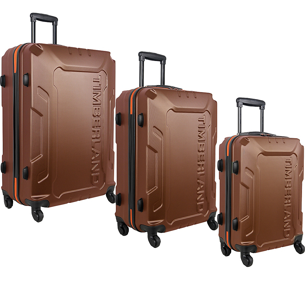 Timberland Boscawen 3 Piece Luggage Set Glazed Ginger Timberland Luggage Sets