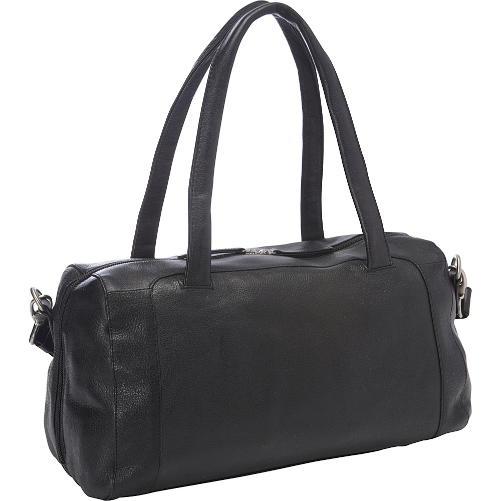 Derek Alexander EW Full Top Zip Duffle Black - Derek Alexander Leather Handbags - Handbags, Leather Handbags