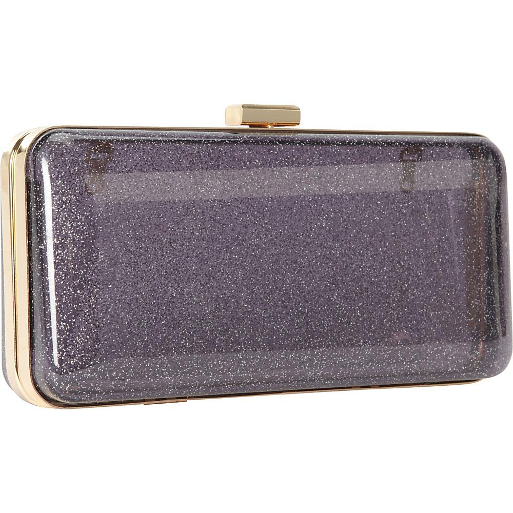 Melie Bianco Ivette Black and Silver - Melie Bianco Manmade Handbags