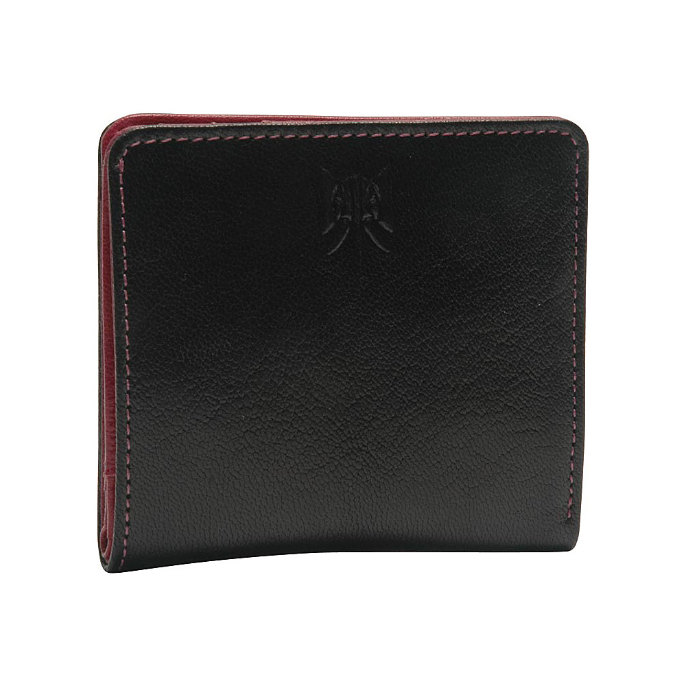 TUSK LTD Siam Snap Evening Wallet Black Raspberry TUSK LTD Women s Wallets