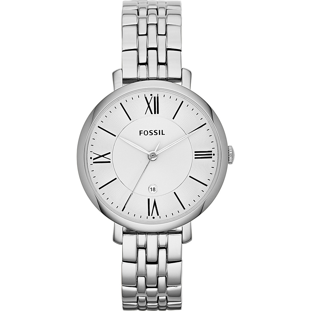 Fossil Jacqueline Silver - Fossil Watches - Fashion Accessories, Watches