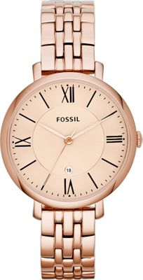 Fossil Jacqueline Rose Gold/Turquois - Fossil Watches
