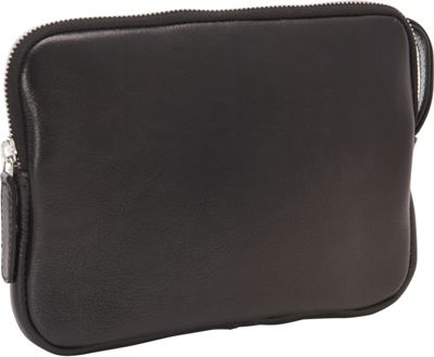 R & R Collections iPad Mini Zip Around Wristlet Black - R & R Collections Electronic Cases