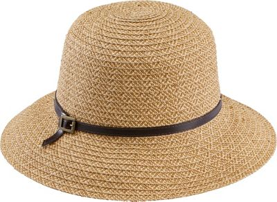 San Diego Hat Ultra Braid Belted Cloche One Size - Camel - San Diego Hat Hats/Gloves/Scarves