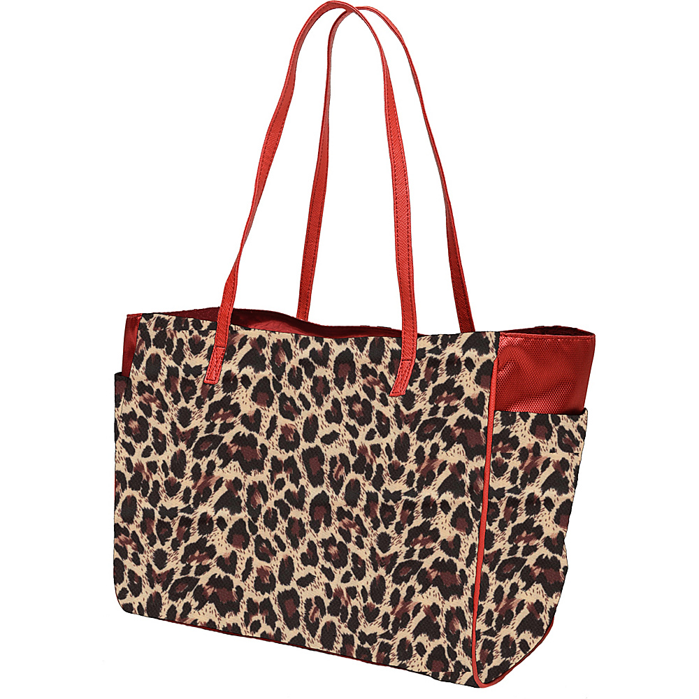 Glove It Mid-Size Tote Bag Leopard - Glove It Golf Bags