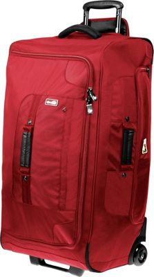 Genius Pack 30 inch Extensive Wheeled Upright Red - Genius Pack Softside Checked