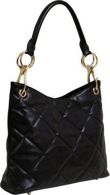 Tiffany & Fred Esther Black - Tiffany & Fred Leather Handbags
