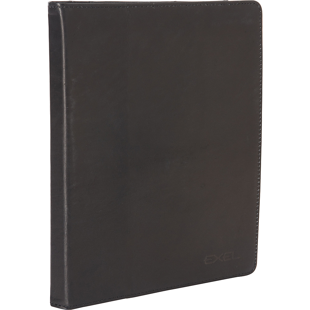 Heritage Colombian Leather iPad Portfolio with Stylus Black Heritage Electronic Cases
