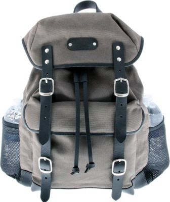 Leatherbay Padua Day Backpack Grey - Leatherbay Day Hiking Backpacks