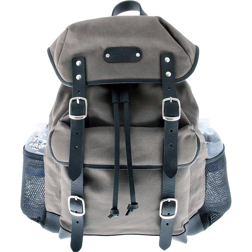 Leatherbay Padua Day Backpack Grey - Leatherbay Backpacking Packs