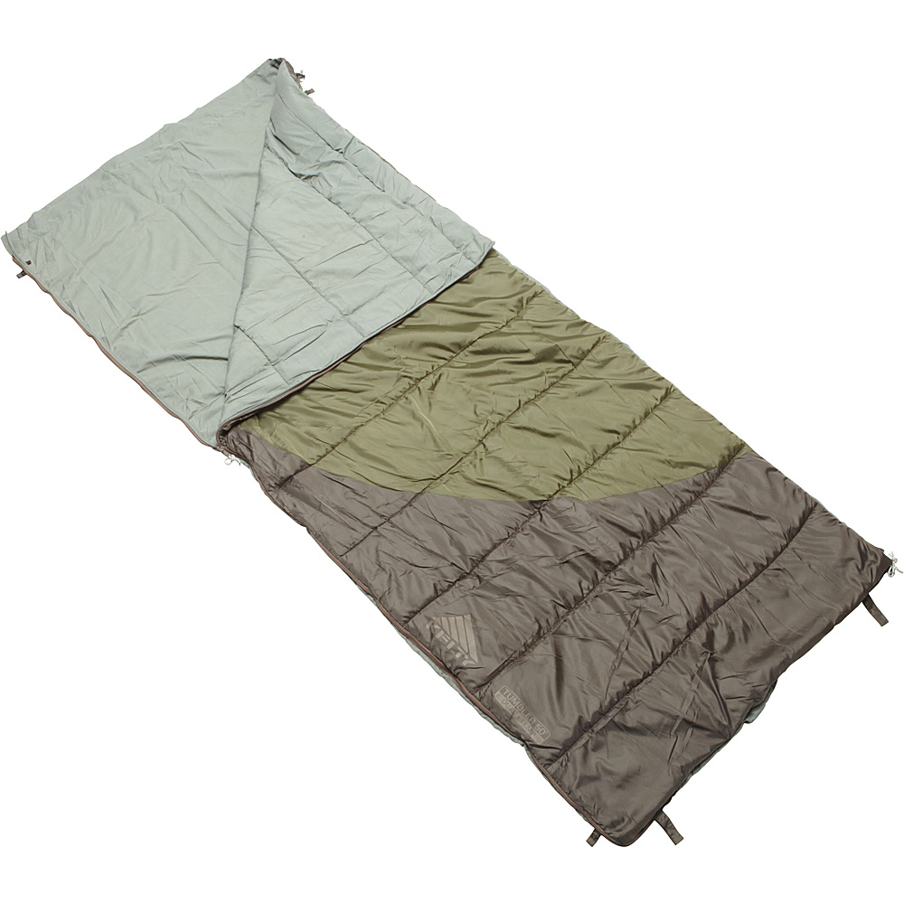 Kelty Tumbler 50 70 Degree Sleeping Bag Regular RH Forest Night Kelty Outdoor Accessories
