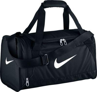 Nike Brasilia 6 Small Duffel Black/Black/White - Nike All Purpose Duffels