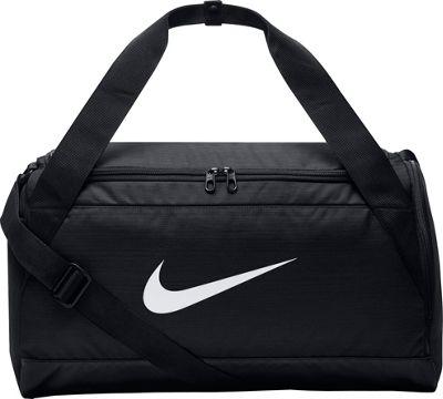 Nike Brasilia 6 Small Duffel Black/Black/White - Nike Gym Duffels