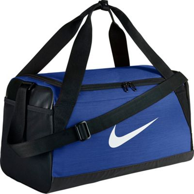 Nike Nike Brasilia 6 Small Duffel Game Royal/Black/White - Nike Gym Duffels