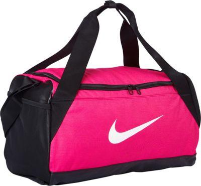 Nike Brasilia 6 Small Duffel Vivid Pink/Black/White - Nike Gym Duffels 10523749