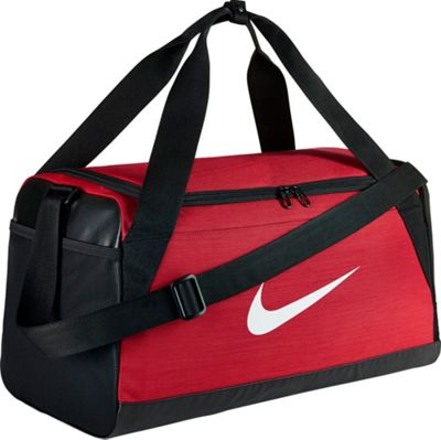 Nike Nike Brasilia 6 Small Duffel University Red/Black/White - Nike Gym Duffels