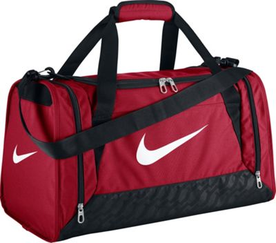 Nike Brasilia 6 Small Duffel Gym Red/Black/(White) - Nike Gym Duffels 10292915
