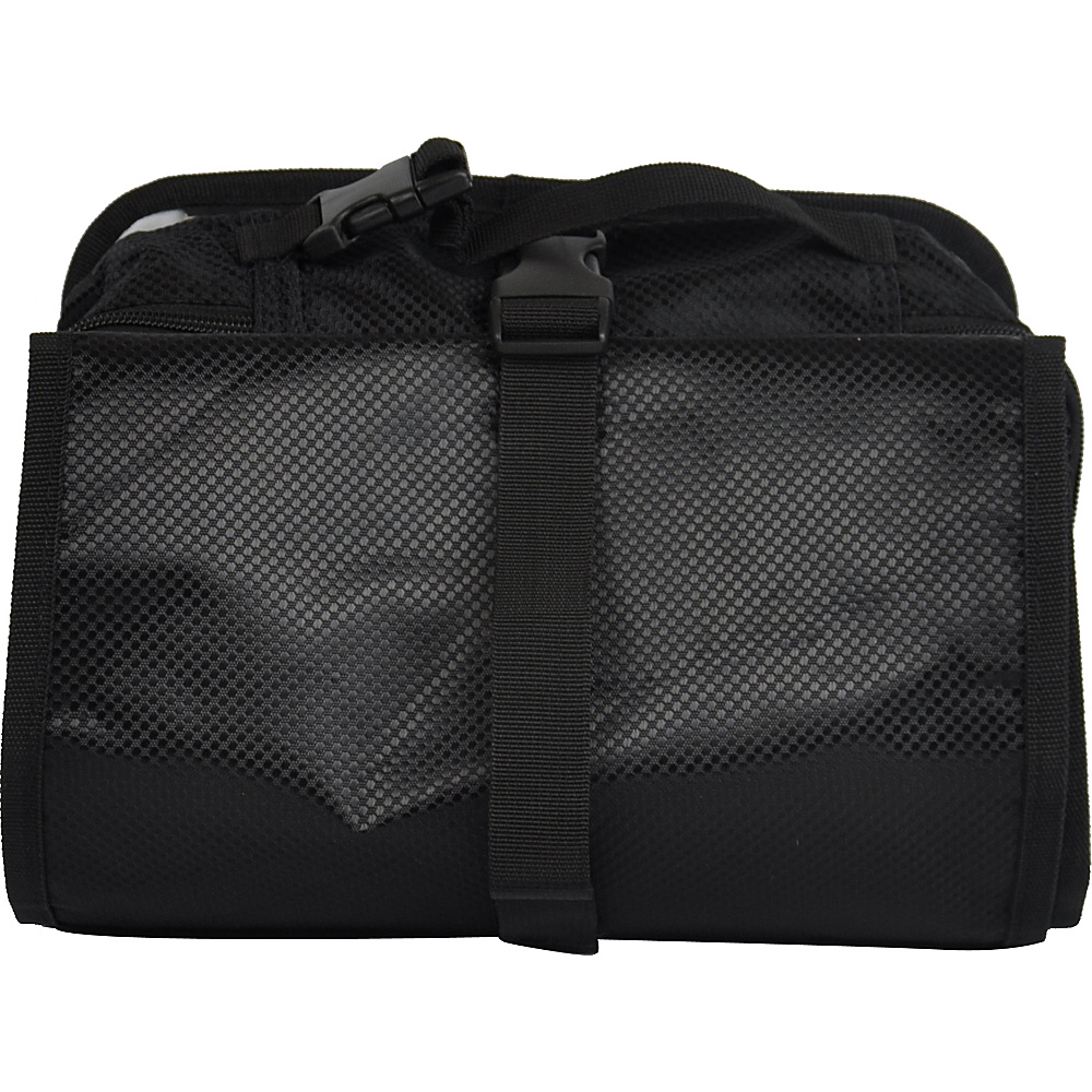 Obersee Extra Large Diaper Changing Station Bag for Travel and Twins Black - Obersee Diaper Bags & Accessories