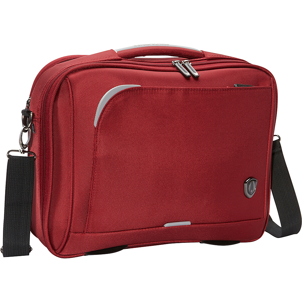 "Traveler's Choice Birmingham 16"" Weekender Boarding Bag Red - Traveler's Choice Luggage Totes and Satchels"