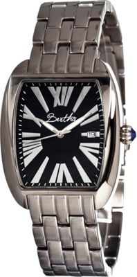 Bertha Watches Anastasia Silver/Black - Bertha Watches Watches