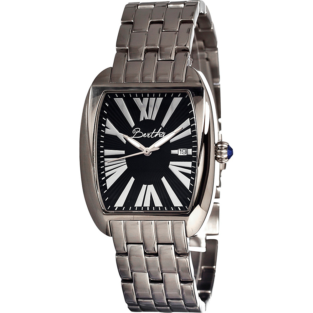 Bertha Watches Anastasia Silver Black Bertha Watches Watches