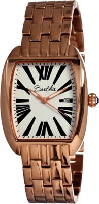 Image of Bertha Watches Anastasia Rose Gold/Black - Bertha Watches Watches