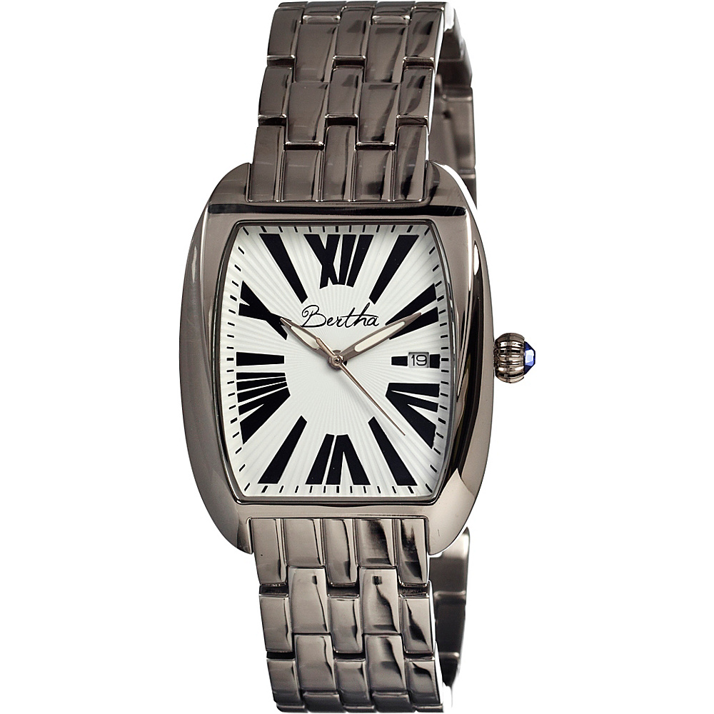 Bertha Watches Anastasia Silver White Bertha Watches Watches