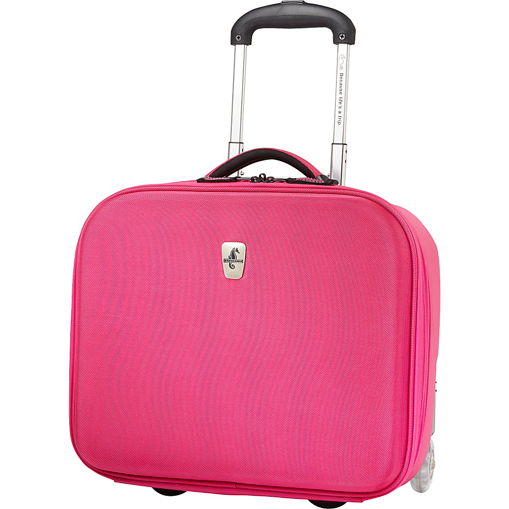 Atlantic Debut Rolling Tote Pink - Atlantic Luggage Totes and Satchels