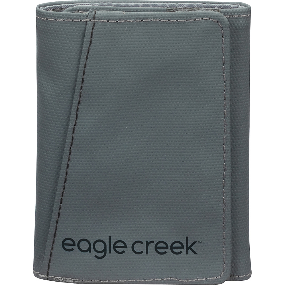 Eagle Creek Tri-Fold Wallet Stone Grey - Eagle Creek Mens Wallets - Work Bags & Briefcases, Men's Wallets
