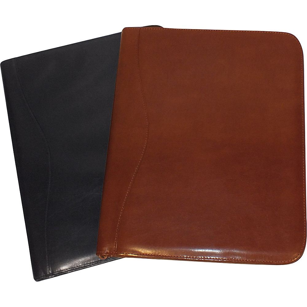 Royce Leather Zip Around Writing Padfolio Tan - Royce Leather Business Accessories - Work Bags & Briefcases, Business Accessories