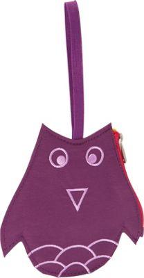 Lug Peekaboo Bag Tag Plum Owl - Lug Luggage Accessories