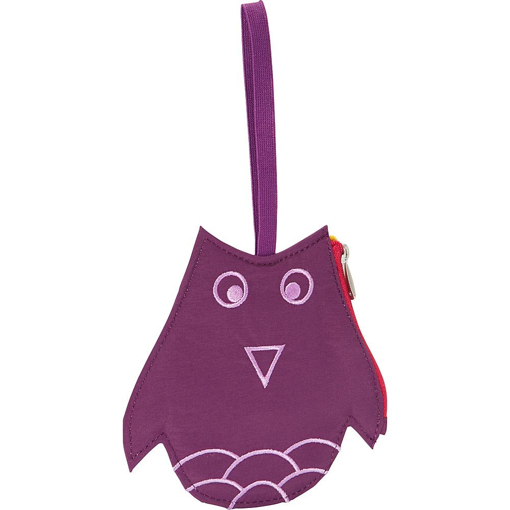 Lug Peekaboo Bag Tag Plum Owl Lug Luggage Accessories