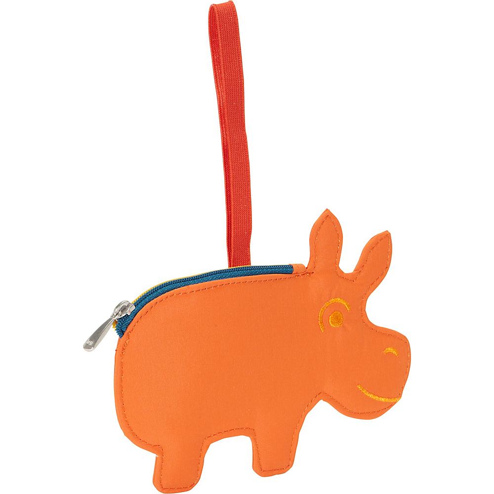 Lug Peekaboo Bag Tag Sunset Hippo Lug Luggage Accessories