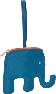Lug Peekaboo Bag Tag Aqua Elephant - Lug Luggage Accessories