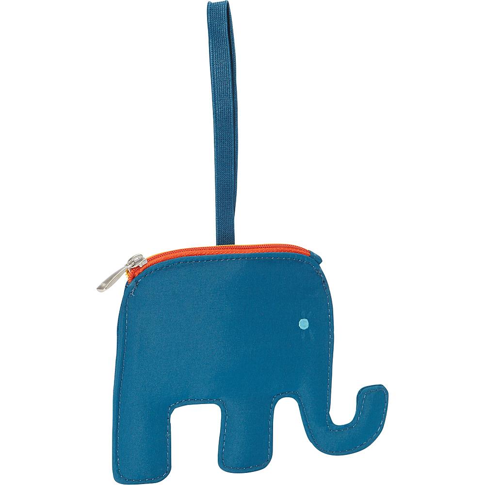 Lug Peekaboo Bag Tag Aqua Elephant Lug Luggage Accessories