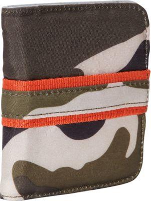 Lug Talkback Pocket Wallet Camo Olive - Lug Men's Wallets