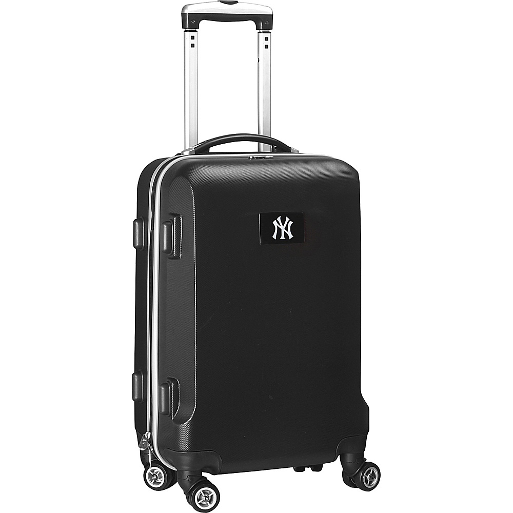 Denco Sports Luggage MLB 20 Domestic Carry-On Black New York Yankees - Denco Sports Luggage Hardside Carry-On - Luggage, Hardside Carry-On