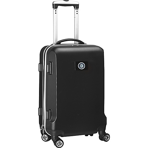 """Denco Sports Luggage MLB 20"""" Domestic Carry-On Black Seattle Mariners - Denco Sports Luggage Hardside Carry-On"""