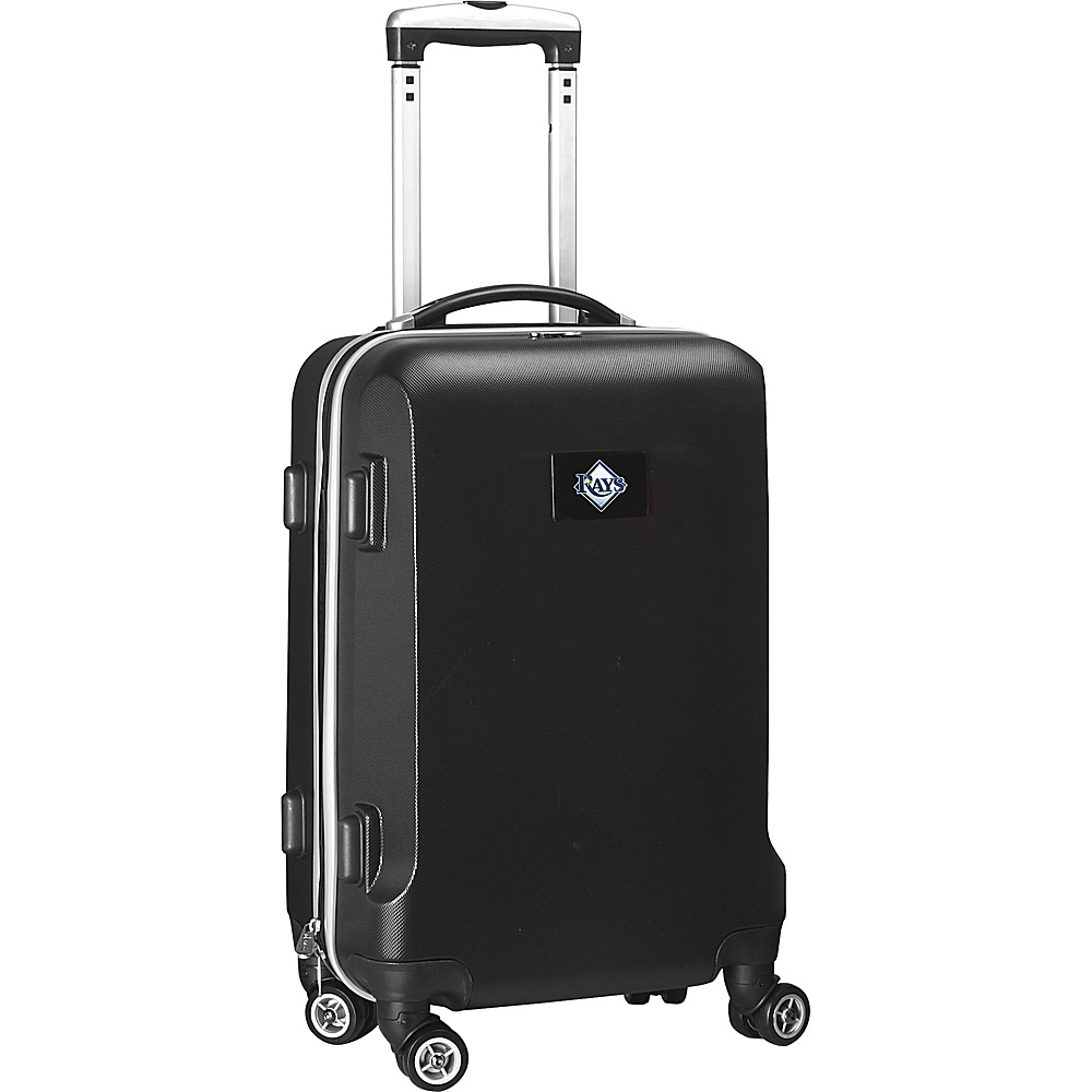 Denco Sports Luggage MLB 20 Domestic Carry-On Black Tampa Bay Rays - Denco Sports Luggage Hardside Carry-On - Luggage, Hardside Carry-On