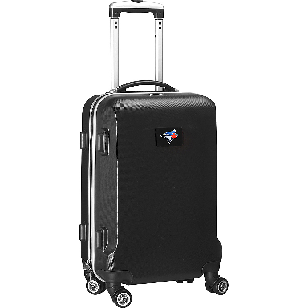 Denco Sports Luggage MLB 20 Domestic Carry-On Black Toronto Blue Jays - Denco Sports Luggage Hardside Carry-On - Luggage, Hardside Carry-On