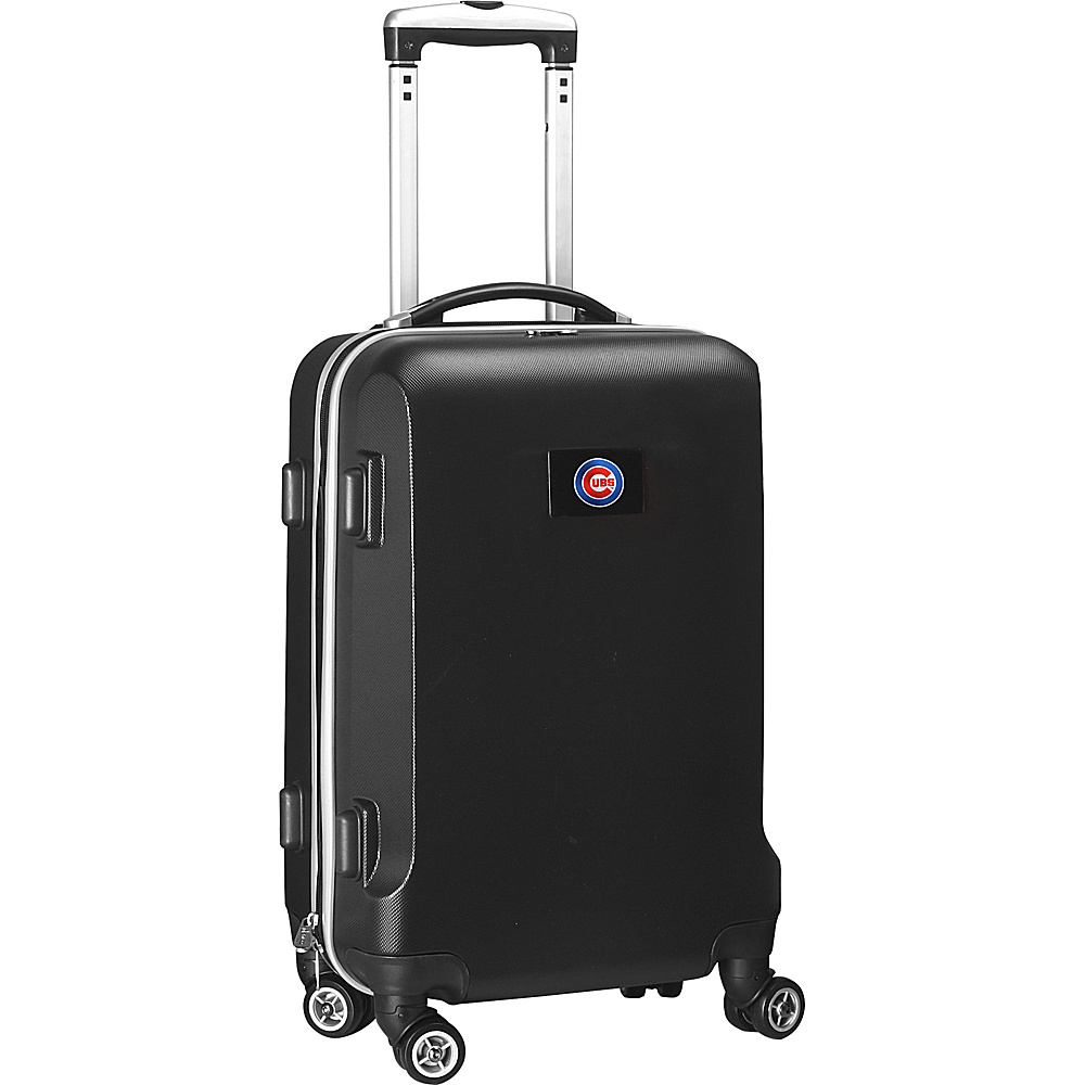 Denco Sports Luggage MLB 20 Domestic Carry-On Black Chicago Cubs - Denco Sports Luggage Hardside Carry-On - Luggage, Hardside Carry-On