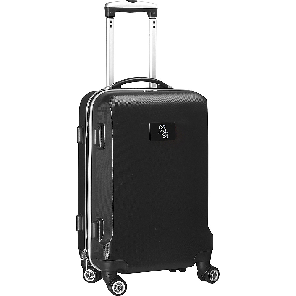 Denco Sports Luggage MLB 20 Domestic Carry-On Black Chicago White Sox - Denco Sports Luggage Hardside Carry-On - Luggage, Hardside Carry-On