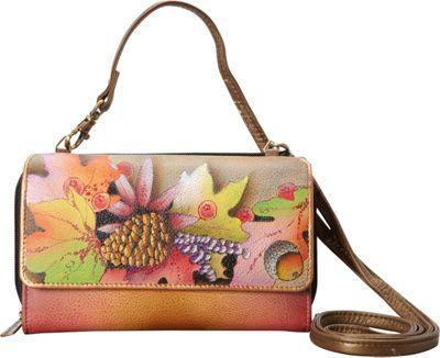 Anuschka Convertible Wallet On A String Fall Fiesta - Anuschka Women's Wallets