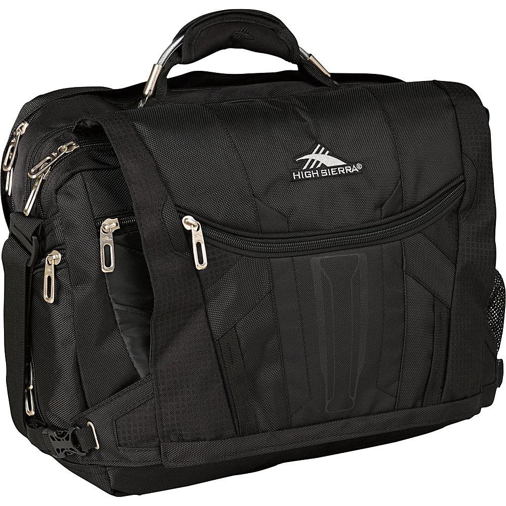 High Sierra XBT TSA Messenger Black High Sierra Messenger Bags