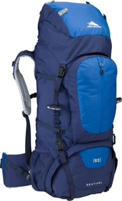 High Sierra Sentinel 65 Backpacking Pack True Navy/Royal/True Navy - High Sierra Day Hiking Backpacks