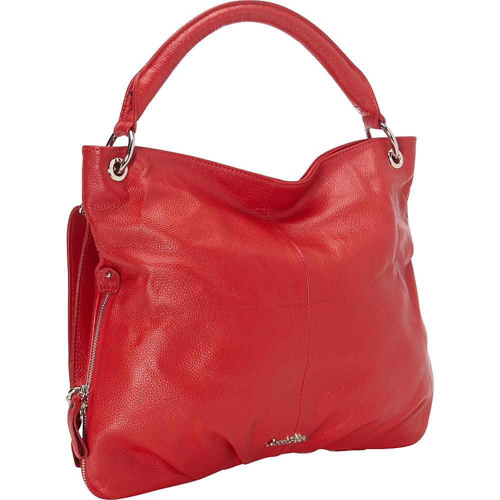 Ann Creek Gennifer Tote Red Ann Creek Leather Handbags
