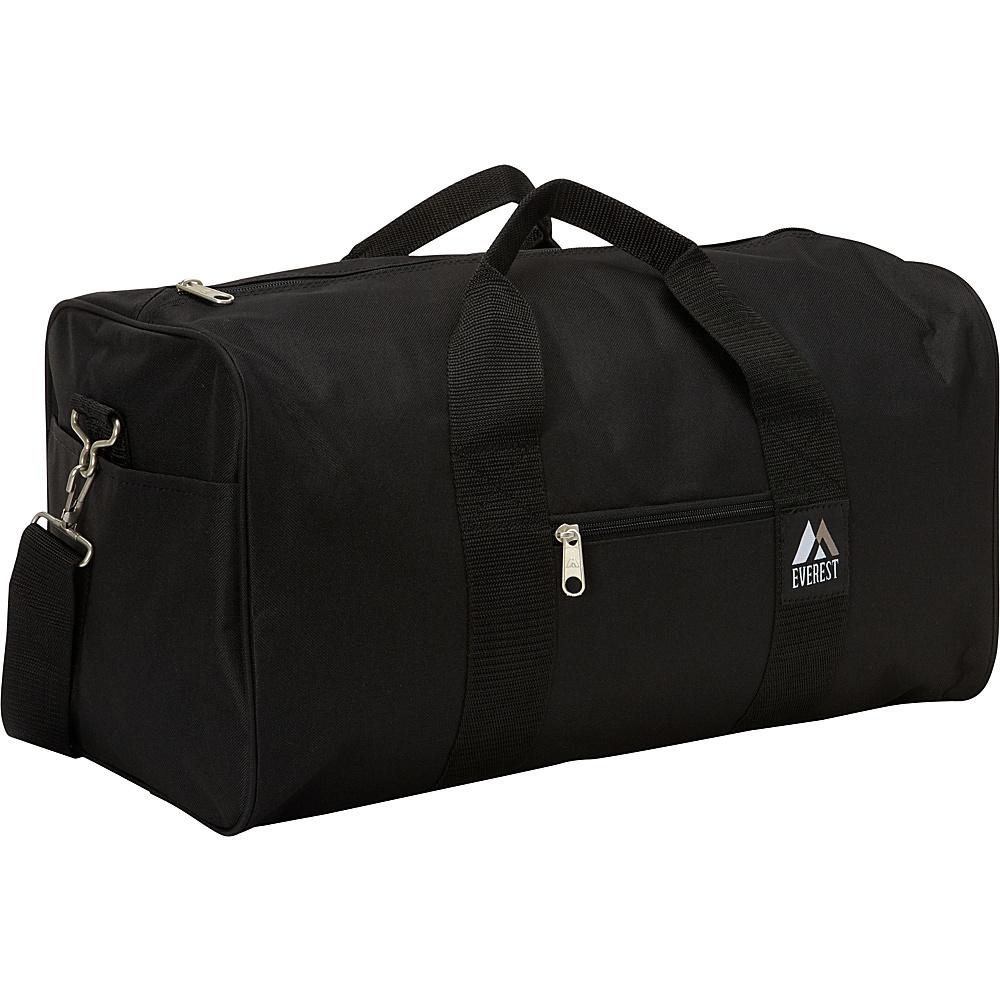 Everest Basic Gear Bag - Standard Black - Everest Travel Duffels - Duffels, Travel Duffels